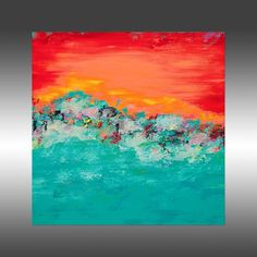 aa77b1e78b Tropical Paradise 3 - Original Abstract Painting