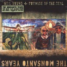 Neil Young + Promise Of The Real The Monsanto Years 2LP Vinil 180gr Bernie Grundman Pallas 2015 USA - Vinyl Gourmet