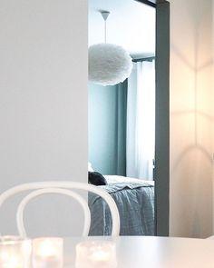View atm☝🏼 Makkarin seinien väri muuttuu aina päivän aikana sinivihreästä ihan tumman metsänvihreään. Saa nähdä tuleeko… Curtains, Instagram, Home Decor, Blinds, Decoration Home, Room Decor, Draping, Home Interior Design, Picture Window Treatments
