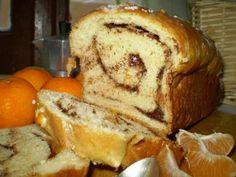 Pane dolce al mandarino e cioccolato