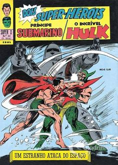 Príncipe Submarino e O Incrível Hulk (Super X) n° 12 - Ebal