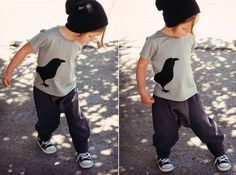 Cool urban organic clothes for kids from the Scandinavian design group Moi:  http://moi-kidz.com/collections/ss2013/