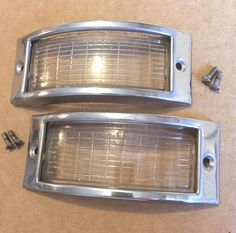 1950 50 plymouth special deluxe tail light assembly