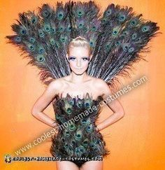 Linda's+Awesome+Homemade+Halloween+Peacock+Costume