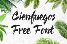 DLOLLEYS HELP: Cienfuegos Free Font