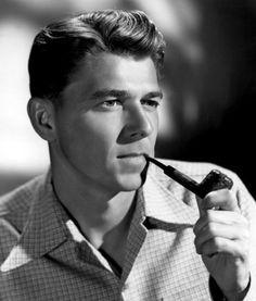 a young Ronald Reagan