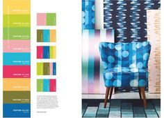 pantone shares the 2018 home interiors go-to colours | @meccinteriors | design bites