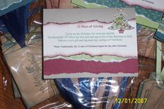 12 Gifts of giving by Fran Korous - Cards and Paper Crafts at Splitcoaststampers