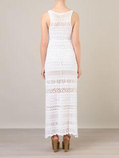 Cecilia Prado Vestido Longo Em Crochê - Cecilia Prado - Farfetch.com
