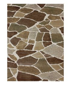Take a look at this Ivory & Granite Expression Rug on zulily today!