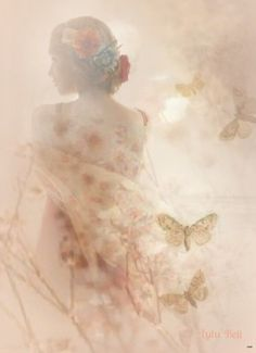 Raindrops and Roses Double Exposure Photography, Art Photography, Raindrops And Roses, Angel Warrior, Ethereal Beauty, Fantasy Art, Cool Pictures, Inspiration, Painting
