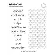 Activités sur le Temps des Sucres Core French, Conscience, Avril, Boutique, Quebec, School Stuff, Image, Ideas, Preschool
