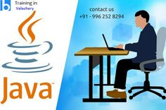 #java #javatraining #professionaltraininginchennai  java is the apt course for freshers. By learning #javatraininginchennai you can placed in mnc. In our institution we are providing the course with placement guidance. So join here and get placed. http://www.traininginvelachery.in/java-training-in-chennai.html?utm_source=pinterest&utm_medium=pinterest-sharing&utm_campaign=logavanig-apr-17