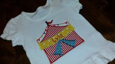Carnival tent ShirtFREE SHIPPING by SouthernBlingBowtiqu on Etsy, $23.00