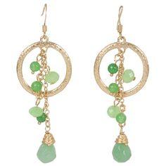 Just in! Kirra Tate Green Ring & Tassel Earrings. #laylagrayce #jewelry #earrings