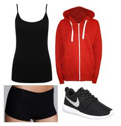 """""""Untitled #134"""" by kendallrose0716 ❤ liked on Polyvore featuring M&Co, WearAll, Hanro and NIKE"""