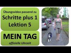 Deutsch lernen A1: Schritte plus 1 Lektion 5 * Sonjas Tag * offizielle Uhrzeit - YouTube