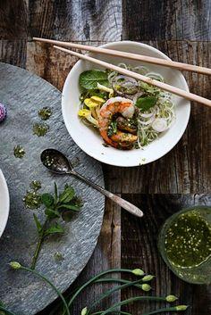 Thai vermicelli salad à la San Francisco*