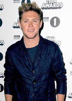 Niall today at the Radio 1 Teen Awards