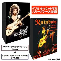 The Ritchie Blackmore Story   Rainbow - Live in Japan 1984 DVD & 2CD From Japan
