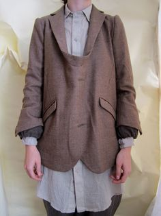 Gasa jacket/brown