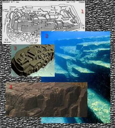 YONAGUNI: the structure is one of the oldest buildings in the world – together with the Sphinx in Egypt and Tihuanacu in Bolivia. 10,000 yrs.old