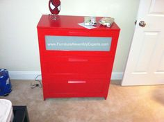ikea brimnes 3 drawers chest assembled in Baltimore MD by Furniture Assembly Experts Company