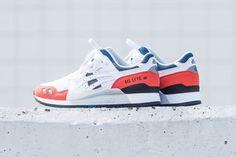 ASICS GEL Lyte III white orange blue black 2018 february release date info politics sneakers shoes footwear