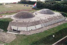fort in hoek van holland in de koude oorlog
