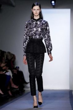 Full shot of the look I dressed. So much fun! @Peter_Som Fall 2012