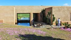 Villa K, Morocco  - View of the house.