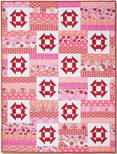 Shadow Song Quilt Pattern by Atkinson Designs at KayeWood.com