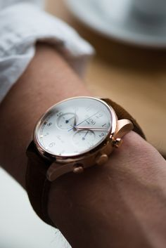 """themanliness: """" The beautiful Tusenö First 42, this piece really sets a new standard in affordable luxury watches. FIRST 42 - ROSÉ GOLD / WHITE Shop Here """""""