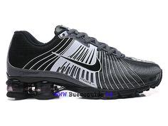 best service 3c475 c9a73 Nike Air Shox Gravity Boutique de Chaussure Baskets Site Officiel Pas cher  Homme Noir blanc-