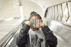 Early morning London Underground portrait. Because cuteness. #photography