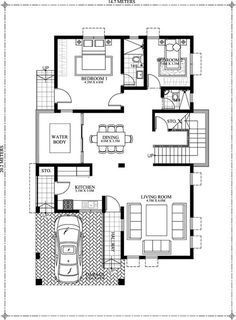Looking for a 5 bedroom house plan? Bernardino model is here for you. With its 308 sq.m. total floor area this house can accommodate a medium to big family.