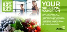 Herbalife Level 10 - Social media Posts by Lucy Crookston, via Behance