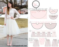 gonna tulle tutorial - Cerca con Google
