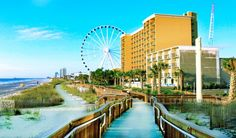 10 Resorts near the Myrtle Beach Boardwalk