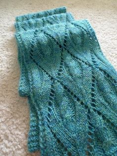 lacy look scarf