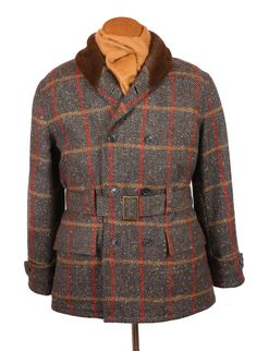 Bookster Donegal Tweed Mackinaw Jacket Alpaca lining Fur Jacket, Us Navy Jacket, Donegal, Tweed, Ready To Wear, Autumn Fashion, How To Wear, Jackets, Hunting