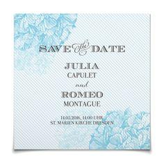Save the Date Florence in Eisvogel - Postkarte quadratisch #Hochzeit #Hochzeitskarten #SaveTheDate #elegant https://www.goldbek.de/hochzeit/hochzeitskarten/save-the-date/save-the-date-florence?color=eisvogel&design=4361c&utm_campaign=autoproducts