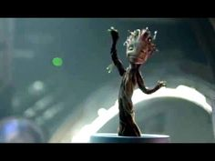 Guardians of the Galaxy Clip - Dancing Baby Groot (2014) Vin Diesel, Mar...
