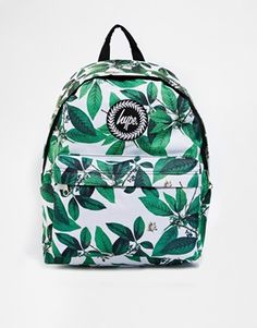 Hype Leaves Backpack at asos.com. Cute BackpacksStylish BackpacksSchool  BackpacksNew ... ce088860a655d