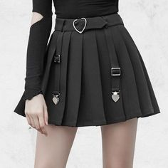 1180 likes, 17 comments - Yes or No ? Grunge Outfits, Hippie Outfits, Edgy Outfits, Korean Outfits, Skirt Outfits, Pretty Outfits, Cool Outfits, Fashion Outfits, Harajuku Fashion