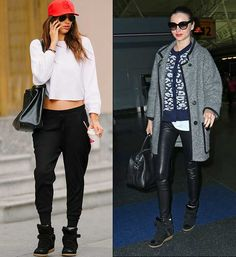 how to wear nike wedge sneakers - Google Search