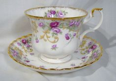 Royal Albert Lavinia Sheraton Series Tea Cup by FionaKennyAntiques