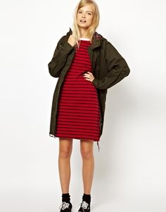 Image 4 ofFred Perry Breton Pique Dress