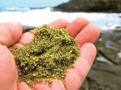Papakolea, Green Sand Beach.