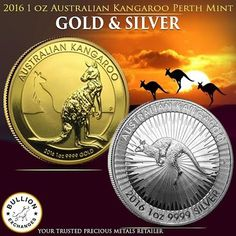 The Perth Mint has been extremely popular in the gold and silver industry as they continue to manufacture many favorite pieces for investors, collectors, and most of legal tender for Australia. They have brought to us the 1 oz. Gold and Silver Kangaroo's on one side and feature an effigy of her majesty Queen Elizabeth II on the obverse side of the coins. Bullion Exchanges offers these beautiful kangaroo coins in Brilliant Uncirculated condition and are all in stock.These precious metals…
